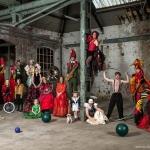Fotoshoot Circusparade