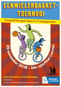 Eenwielerbaskettornooi @ KBC sporthal | Leuven | Vlaanderen | België
