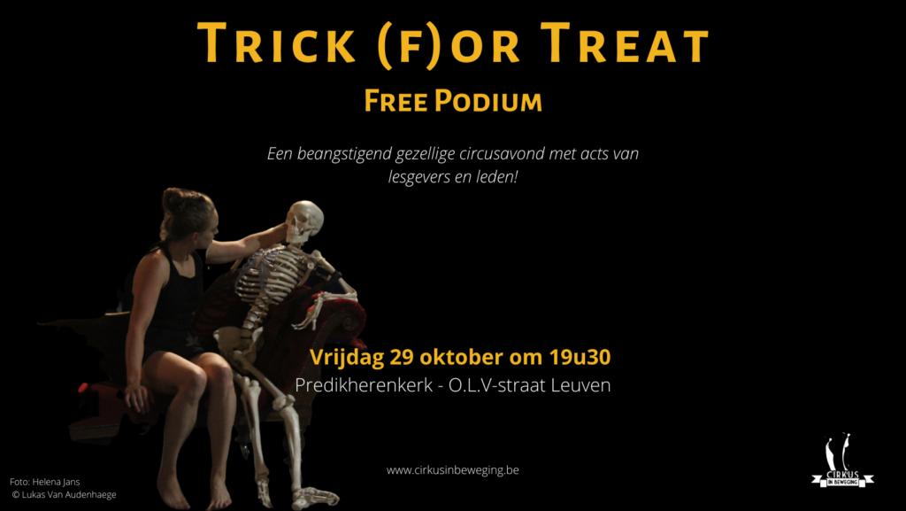 Trick (f)or Treat - Open Piste @ Predikherenkerk | Leuven | Vlaanderen | België