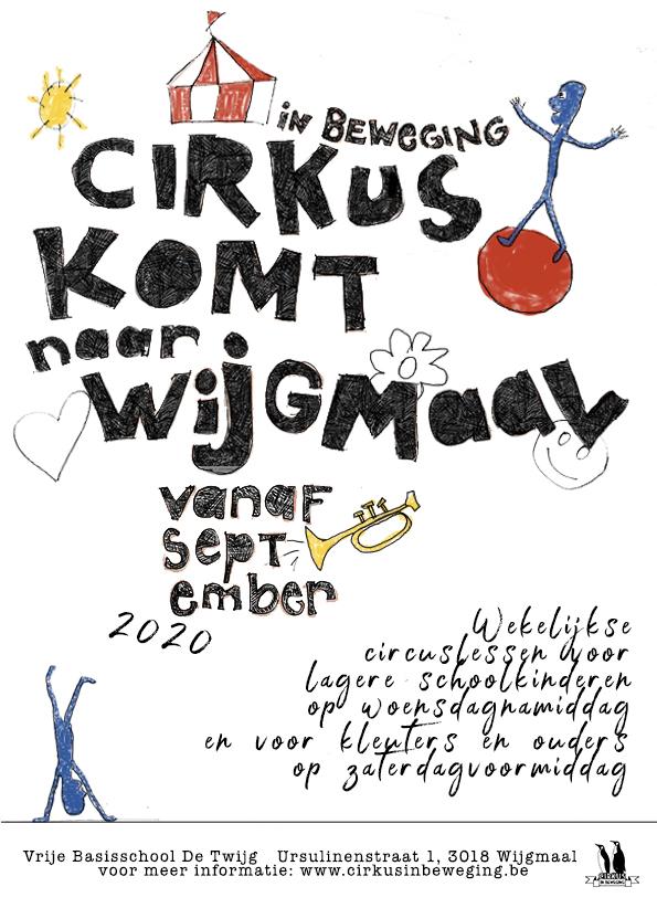 Weekly circus lessons in Wijgmaal @ Primary School De Twijg | Leuven | Flanders | Belgium